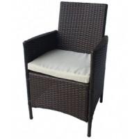 Градинско кресло 651 с възглавничка ратан