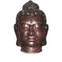 Керамична глава Буда