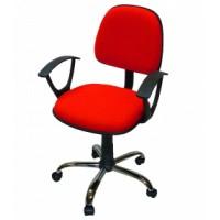Офис стол с метална кръстачка Малага 2