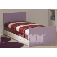 Легло за детска стая с чекмеджета Елмо 1