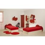 Детска стая КИДИ с две легла за матрак 82/190 см