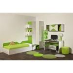 Детска стая КЛЕО с легло за матрак 82/190 см