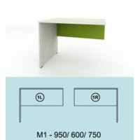 Модулна система МОДИ бюро ляво или дясно М1
