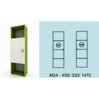 Модулна система МОДИ гардероб (ляво или дясно) М24