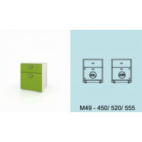 Модулна система МОДИ шкаф с чекмедже и вратичка (ляво или дясно) М49