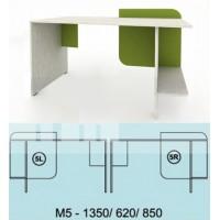 Модулна система МОДИ бюро с място за компютър (ляво или дясно) М5
