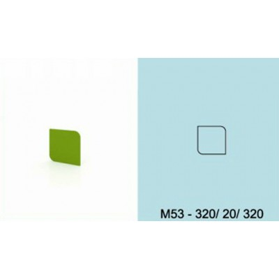 Модулна система МОДИ декоративен елемент за стена М53