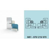 Модулна система МОДИ троен декоративен елемент за стена М61