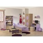 Детска стая РОБИН с легло за матрак 82/190 см.