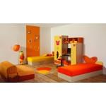 Детска стая УЕНДИ с две легла за матрак 82/190 см