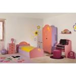 Детска стая АРИЕЛ с легло за матрак 82/190 см.