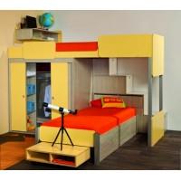 Детска стая СИД с 2 легла за матрак 82/190 см