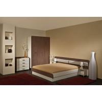 Спален комплект АВА със скрин и легло с повдигащи амортисьори