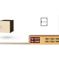 Надстройка за еднокрилен гардероб 1519/1520
