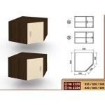 Надстройка за ъглов гардероб 2153/2154