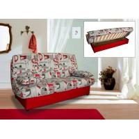 Клик клак диван Никол с два дунапренови матрака - за ежедневно спане