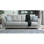 Триместен разтегателен диван Nisa - светло сив
