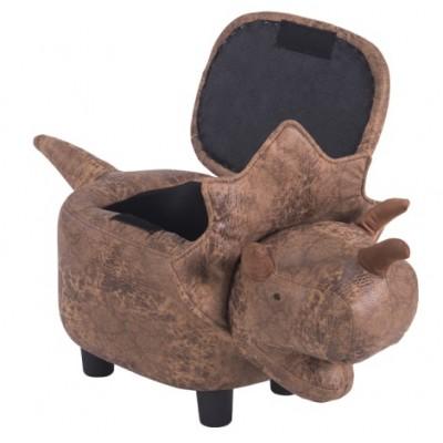 Детска табуретка - ракла Динозавър
