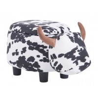Детска табуретка - ракла Крава