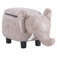 Детска табуретка - ракла Слон