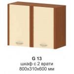 Горен шкаф с 2 врати МИКА G 13