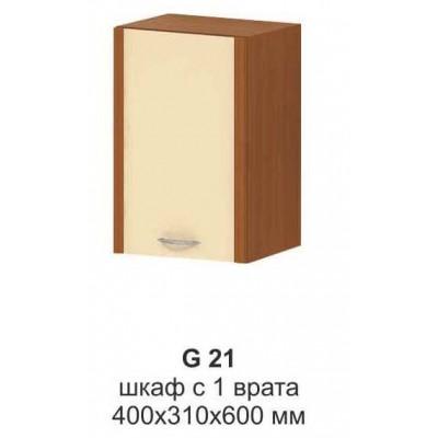Шкаф с 1 врата МИКА G 21