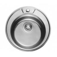 Мивка алпака 490/170 кръгла за вграждане - 65LA 490