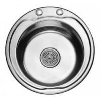 Мивка алпака 480/210 кръгла за вграждане - 65LA N480