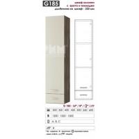 G185 Шкаф колонен с една врата и чекмедже