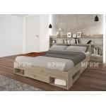 Легло с 2 нощни шкафчета и надстройка City 7048