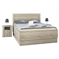 Спалня с нощни шкафчета Сити 7004 с увеличена височина на сядане