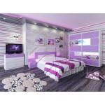 Спален комплект Адел с LED осветление