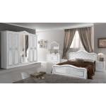 Италианска спалня LUISA Bianco Silver