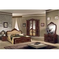 Италианска спалня Луиза с тапицирана табла