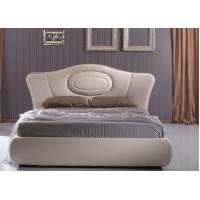 Кожена спалня ARIA за матрак 160/200