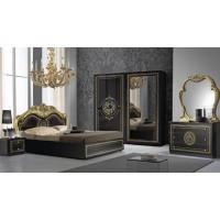 Спален комплект DOLORES Nero/Gold
