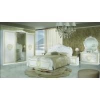 Спален комплект VILMA Bianco/Gold