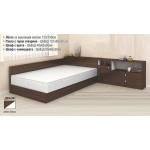 Легло приста с ракла и шкафове Мареа 2