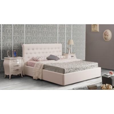 Кожена спалня Chiara с повдигащ механизъм