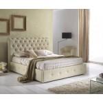 Кожена спалня Peninsula за матрак 140х200