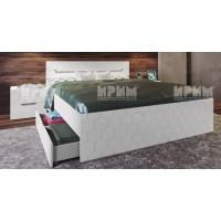 Легло Gаbrielle в комплект с нощни шкафчета