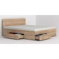 Аполо 10 спалня с чекмеджета за матрак 160/200 см