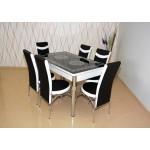 Комплект разтегателна маса и 6 стола 1507 1