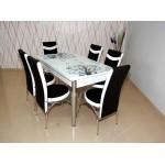 Комплект разтегателна маса и 6 стола 2014 6