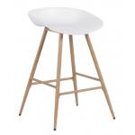Бар стол Carmen 3086 - бял