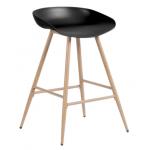 Бар стол Carmen 3086 - черен