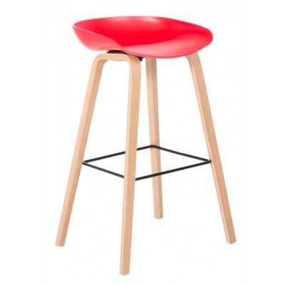 Бар стол Carmen 3078 - червен