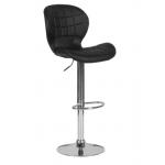 Бар стол Carmen 4055 - черен
