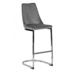 Бар стол GRAYS - сив