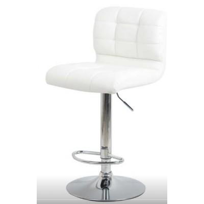 Бар стол Калипсо 15 бял
